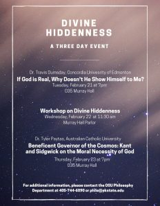Divine Hiddenness 3 day event-1