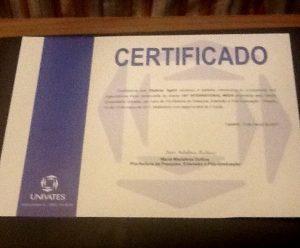 univates certificate