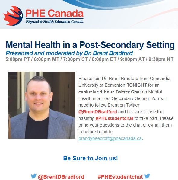 Mental Health In A Post-Secondary Setting: Dr. Brent