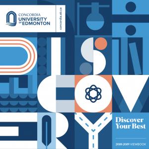 Concordia University of Edmonton 2018-19 Viewbook cover image