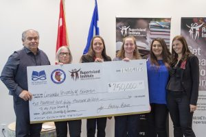 Gift Announcement for Metis Students at CUE