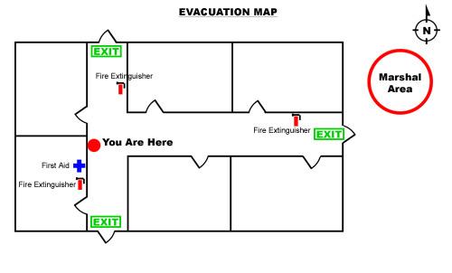 Updated Evacuation Routes Concordia University Of Edmonton