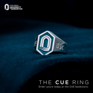 The CUE Ring for graduates and alumni