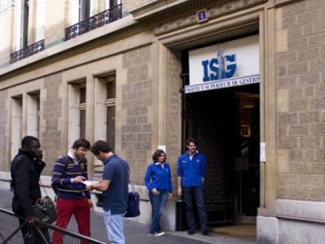 Institut Supérieur de Gestion (ISG), Paris, France