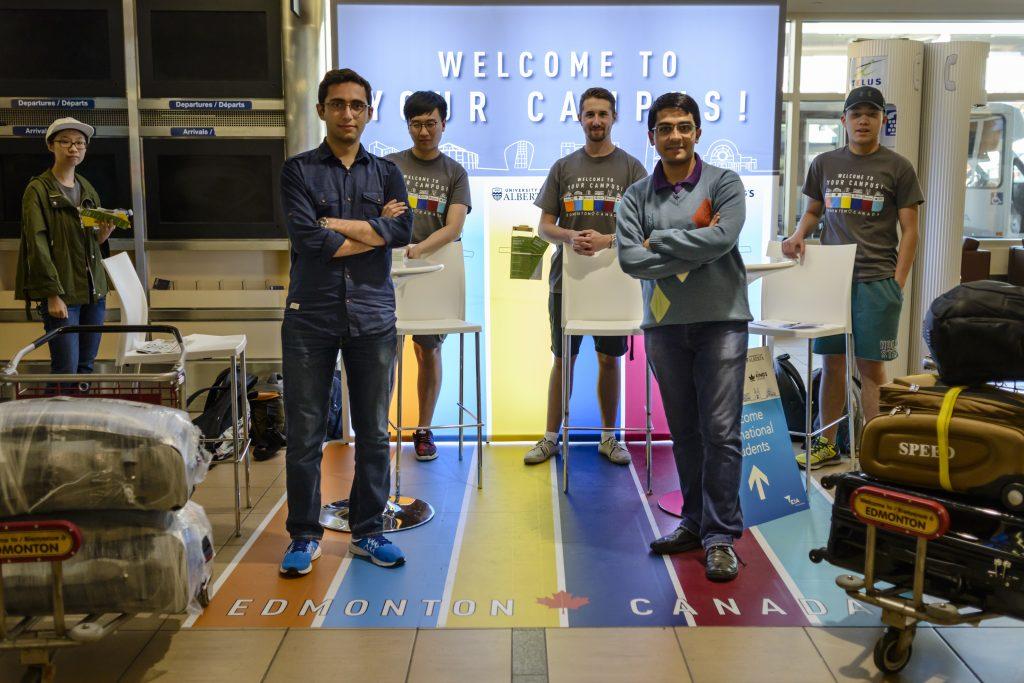 Canada, Edmonton. Aug/22/2017. UAI International Student Welcome at EIA.