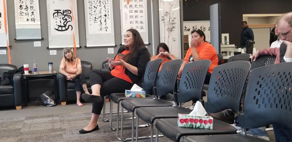 Indigenous Knowledge & Research Centre - Orange Shirt Day